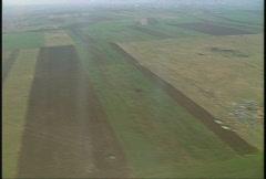 Kosovo, former Yugoslavia immediate post war, helicopter flight, #25 Stock Footage