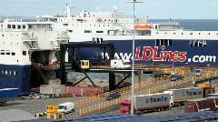 Ferryport Stock Footage