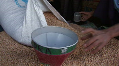 Myanmar: Irrawaddy Delta Emergency Food Distribution Stock Footage