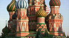 St. Basil's Cathedral - stock footage