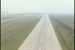 Kosovo, former Yugoslavia immediate post war, helicopter flight, #9 Stock Footage