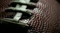 Football Macro Stock Footage