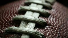 Football Macro - stock footage