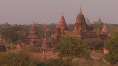 Burma: The Pagodas of Bagan Stock Footage