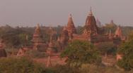 Stock Video of Burma: The Pagodas of Bagan Stock Footage