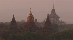 Burma: Pagodas of Bagan, Myanmar - stock footage