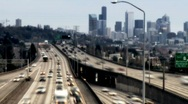 Freeway Time-lapse Stock Footage