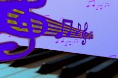 Music background number 1 - loop Stock Footage