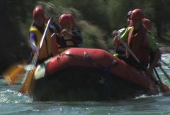 Rafting 6 Stock Footage