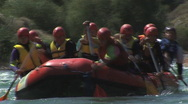 Stock Video Footage of Rafting 6