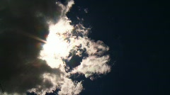 Sunshine and Clouds Time-lapse - stock footage
