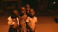 Stock Video Footage of african poor children
