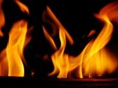 High Speed Camera : Fire wood 01 Loop Stock Footage