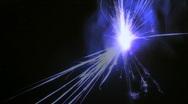 Sparkler changes colors loop V2 - HD  Stock Footage