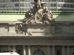 Grand Central Station Building Facade - stock footage