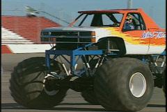 Motorsports, monster truck, #4 Stock Footage