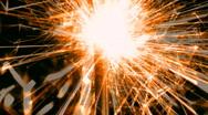 Sparkler changes colors loop V3 - HD  Stock Footage