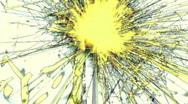 Solarized sparkler loop - HD  Stock Footage