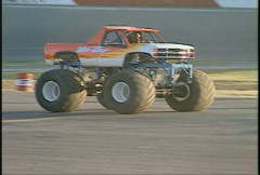 Motorsports, monster truck Stock Footage