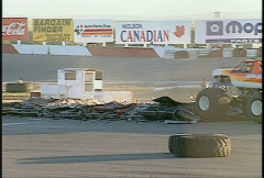 Motorsports, monster truck, #1 Stock Footage