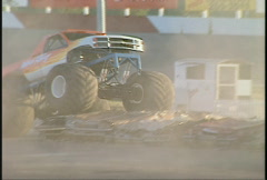 Motorsports, monster truck, #5 Stock Footage