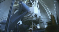 Stock Video Footage of Inside the 2.1 meter telescope