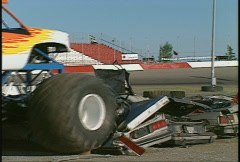 Motorsports, monster truck, #6 Stock Footage