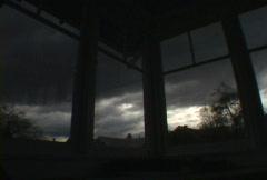 Wide Window Weather - stock footage
