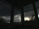 Stock Video Footage of Wide Window Weather