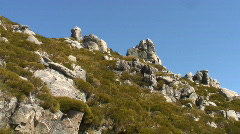 Natural Park  of Serra da Estrela - Portugal Stock Footage