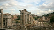 Stock Video Footage of Imperial Forum, Rome