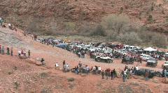 Moab Potato Salad hill pan P HD Stock Footage