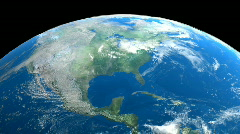 Earth View Wide - stock footage