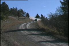 Motorsports, rally racing, Eagle Talon rally car, #4 Stock Footage
