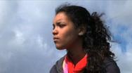 Teenage girl Stock Footage