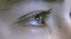 Close-up eye Stock Footage