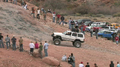 Moab Potato Salad hill white up P HD Stock Footage