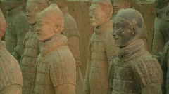 Xian Tomb of the Terracotta Warriors 2 - stock footage