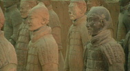 Stock Video Footage of Xian Tomb of the Terracotta Warriors 2