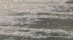 Dam Water Wake River Stock Footage