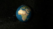Earth View Greenland Stock Footage
