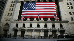 Wall Street and the NYSE Stock Footage