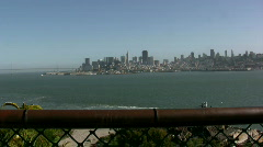 Zoom in on San Fransisco City Stock Footage