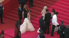 Red carpet Eva Longoria 1 Stock Footage