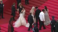 Red carpet Eva Longoria 1 Stock Footage