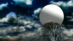 Doppler Radar 437 - Storm Composite Stock Footage