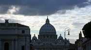 Stock Video Footage of Saint Peter Bailica, Rome