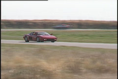 Motorsports, roadcourse racing exotic cars, #9 Stock Footage