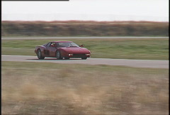 Motorsports, roadcourse racing exotic cars, #6 Stock Footage