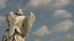 Angel in Rome - Italy Stock Footage